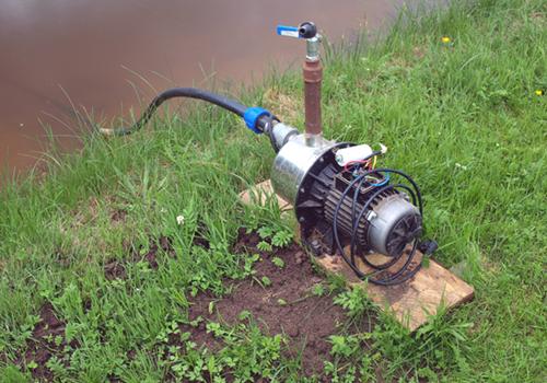 Автоматический насос для полива
