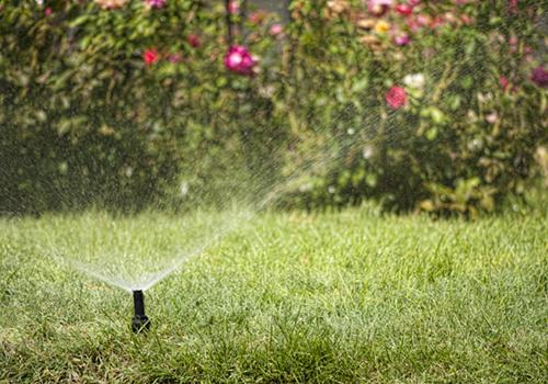 Разбрызгиватель веером для сада